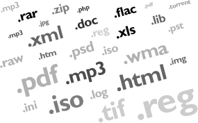 Pengertian extensi file-Rahasia titik disetiap nama file
