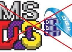 Kelemahan aplikasi DOS (16bit) dan database mdb dbf