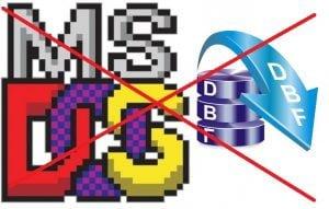kelemahan dan kekurangan aplikasi dos dan database dbf