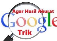 trik menggunakan google