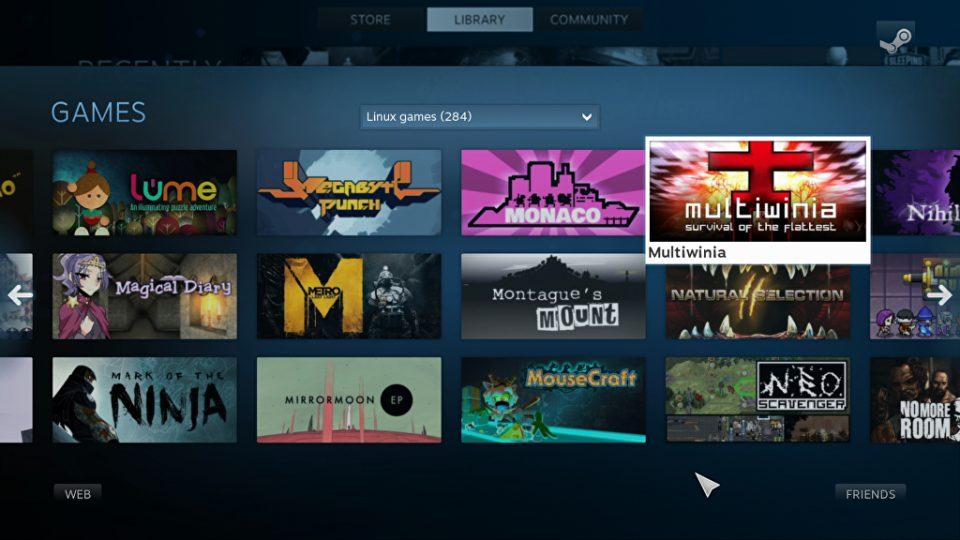 steam OS dari valve untuk membuat game console steam