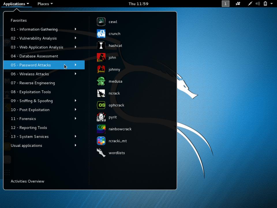 kali linux sistem operasi untuk hacker