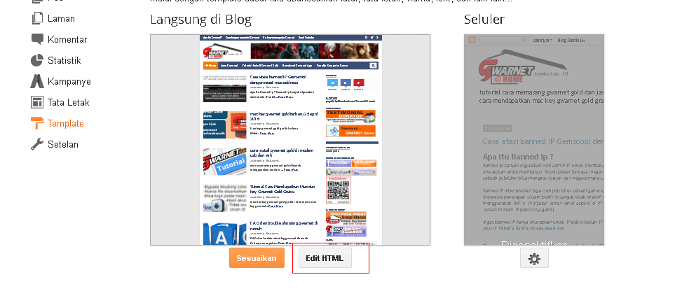 edit template html blogger untuk memasang google analytics tracing code
