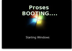 Proses booting pada komputer