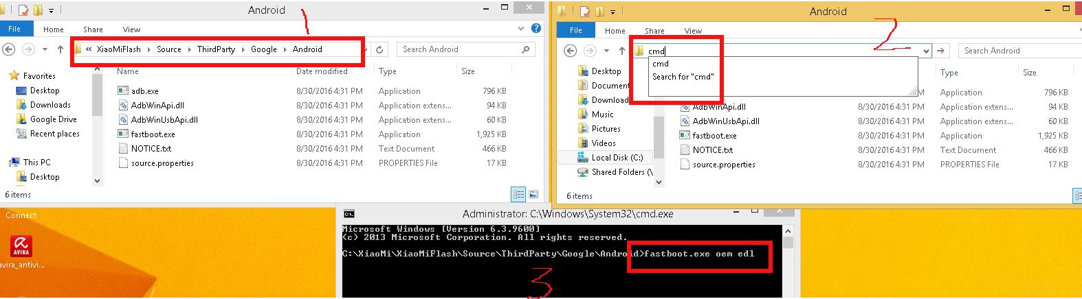 cara menggunakan fastboot tool pada xiaomi