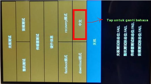 cara mengubah bahasa pada android recovery menu saat flashing