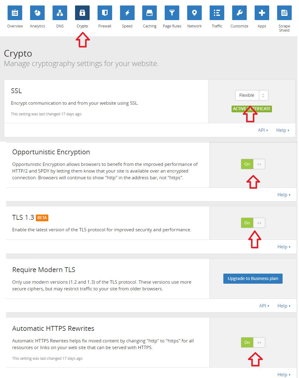 cara mengaktifkan Flexible SSL pada Cloudflare
