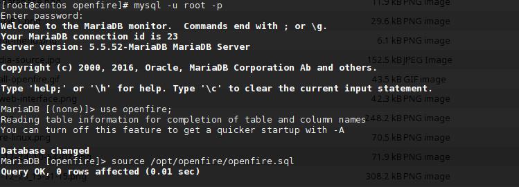cara restore mysql database di linux saat membuat server chatting sendiri