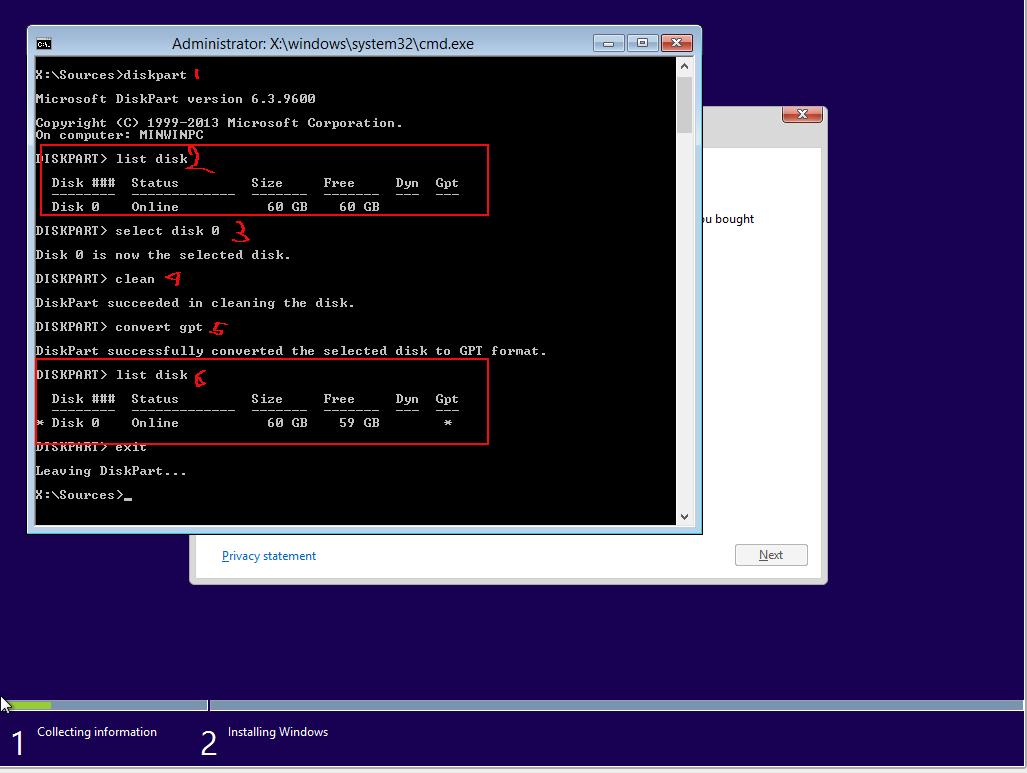 cara merubah partition table dari MBR ke GPT atau sebaliknya
