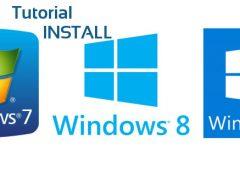 Cara Install Windows 7,8,10 Dengan BIOS dan UEFI