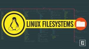 memahami hierarti linux file sistem dan mounting pada linux
