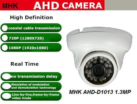 HD kamera dengan teknologi AHD