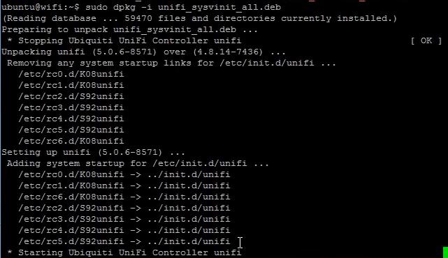 upgrade Unifi Controller pada debian Ubuntu Linux