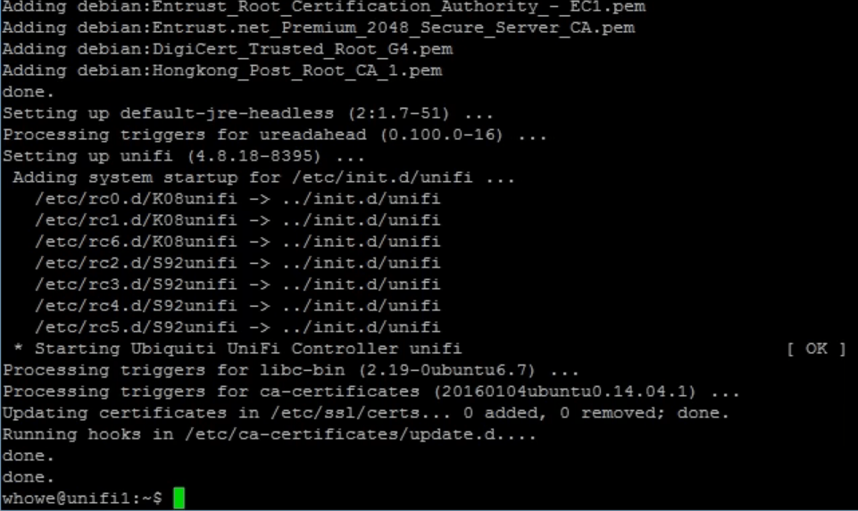 install dependency unifi controller debian ubuntu linux