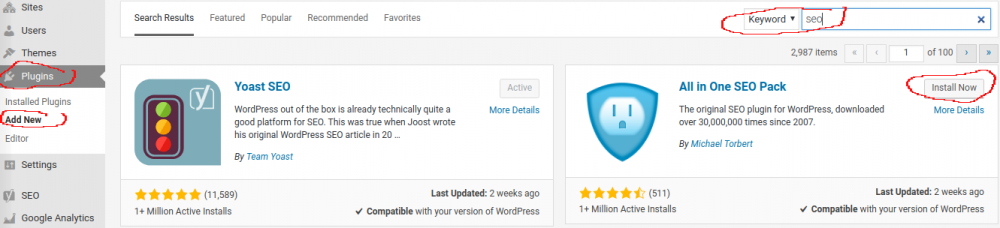 cara menginstall wordpress plugin