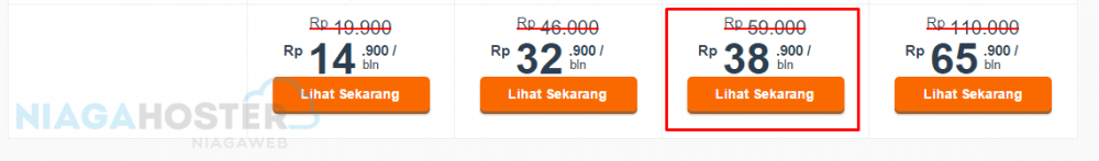 harga paket hosting niaga hoster indonesia