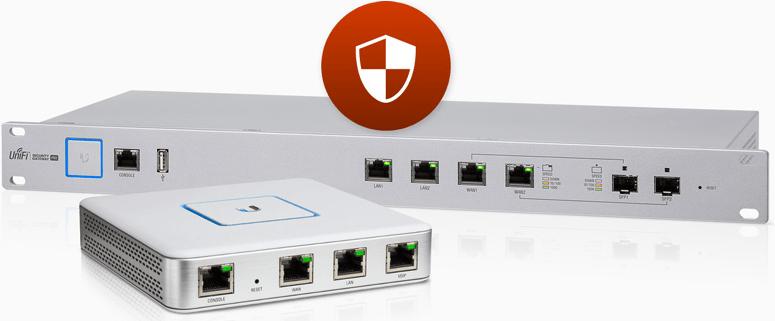 UniFi Router include unifi controller dan firewall untuk jaringan unifi anda