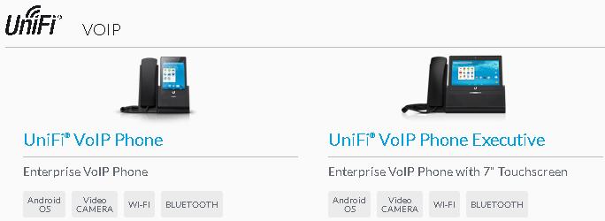 beberapa produk UniFi VoIP Phones