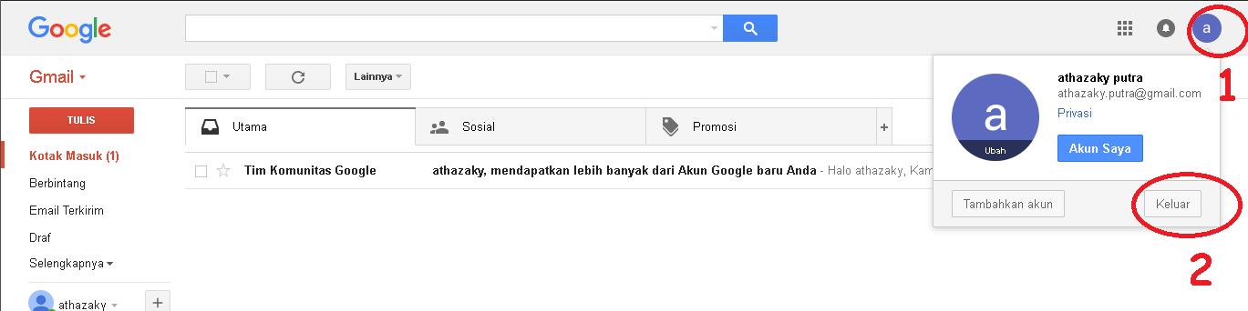 cara logout dari email gmail