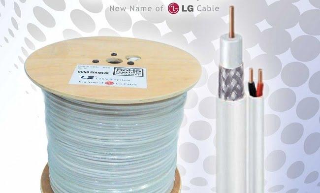 kabel khusus untuk jaringan cctv dari LS cable