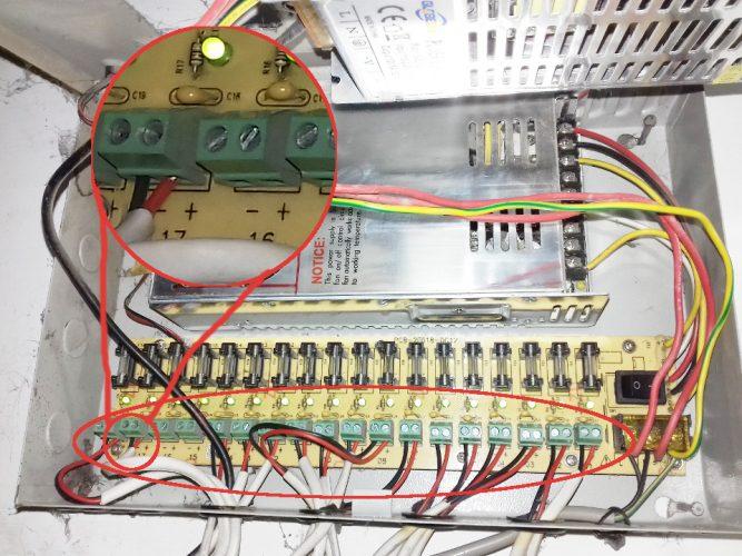 cara memasang power supply untuk kamera cctv