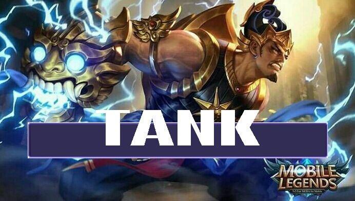 tugas dan tanggung jawab serta cara memainkan tank hero di game mobile legend dan Arena of Valor AoV