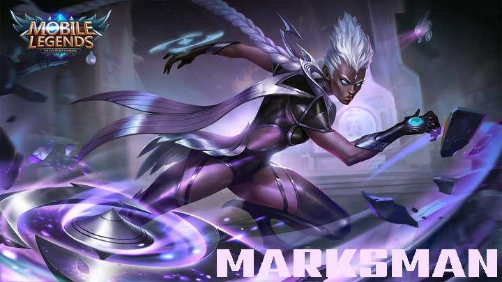 tugas dan tanggung jawab serta cara memainkan marksman MM hero di game mobile legend dan Arena of Valor AoV