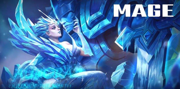 tugas dan tanggung jawab serta cara memainkan mage hero di game mobile legend dan Arena of Valor AoV