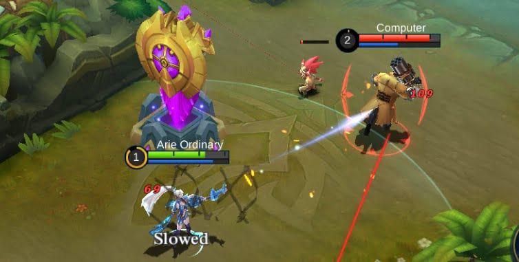 Jenis hero jarak jauh/range hero pada mobile legend