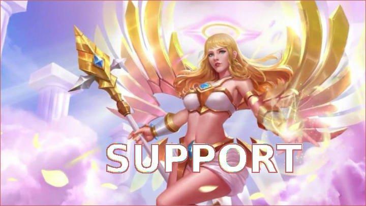tugas dan tanggung jawab serta cara memainkan support hero di game mobile legend dan Arena of Valor AoV