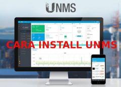 Cara Install Setting UNMS Untuk Monitoring Jaringan Wireless