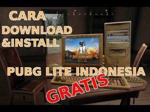 cara daftar dan download install PUBG Lite indonesia