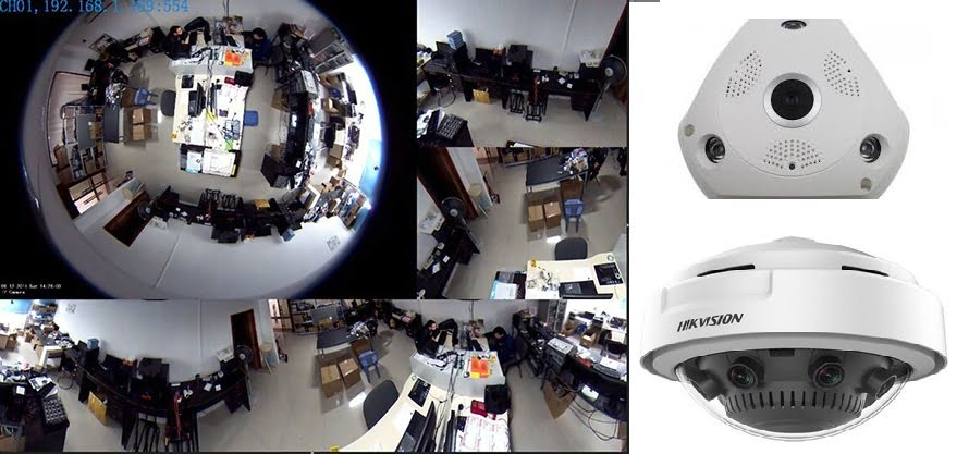 kamera cctv panoramic fish eye