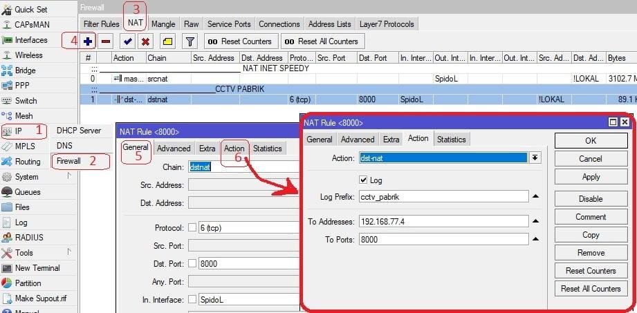 Setting DVR CCTV ONLINE Untuk Dilihat Di PC,HP via Internet