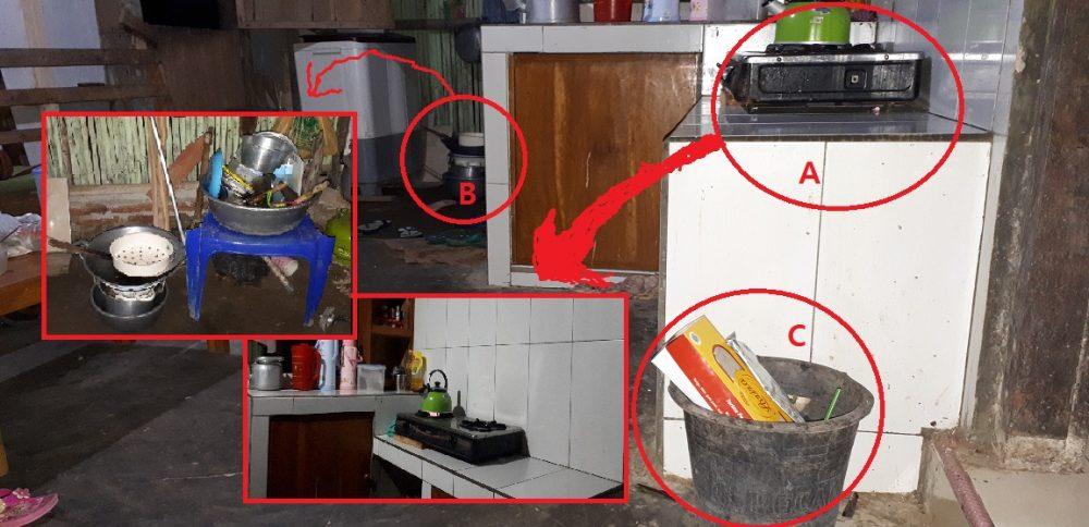 membuat dapur bersih dari sampah makanan