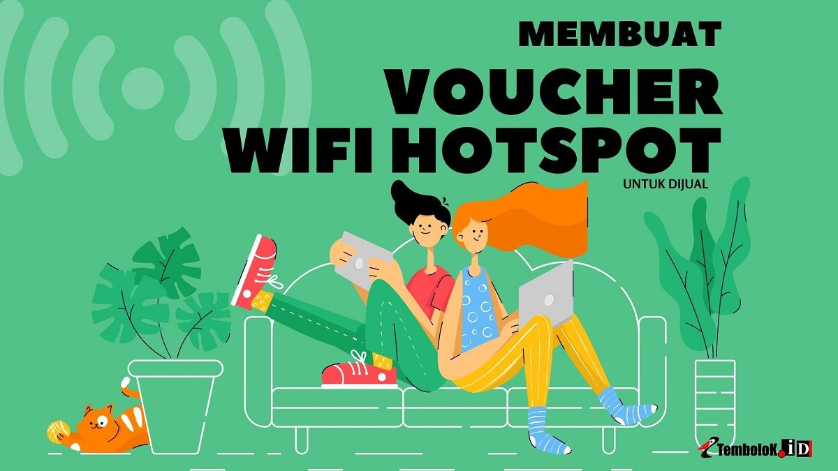 membuat voucher wifi hotspot