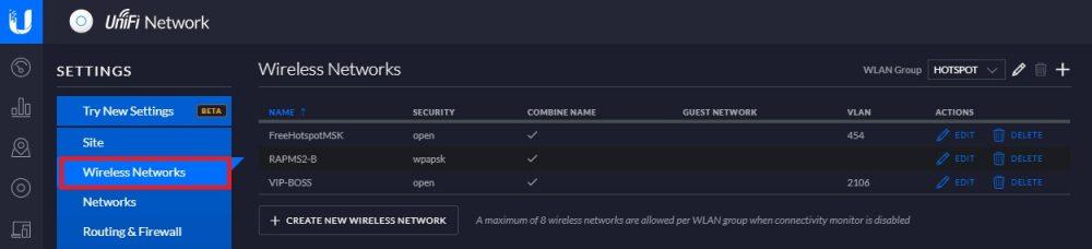 cara multi SSID di UniFi