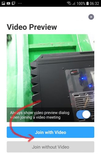 preview meeting