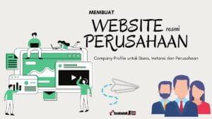 tutorial cara membuat website perusahaan dan bisnis
