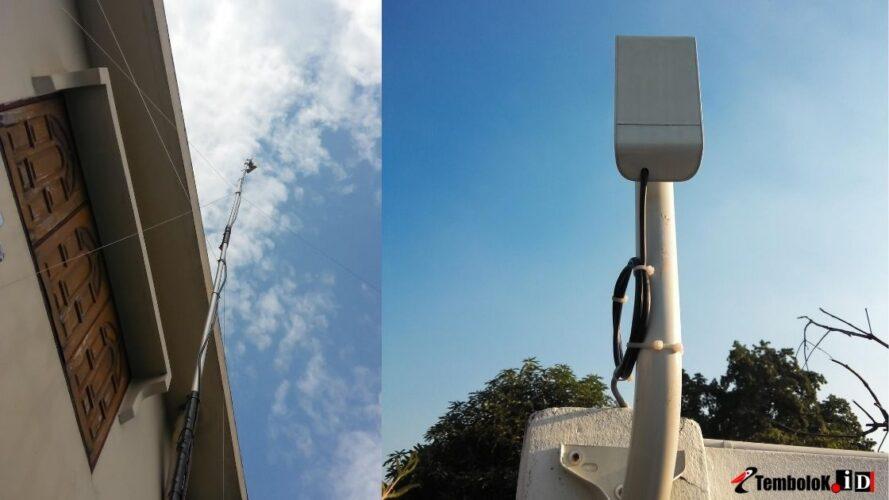 memasang WiFi untuk Rumah di provider internet wireless atau rt rw net