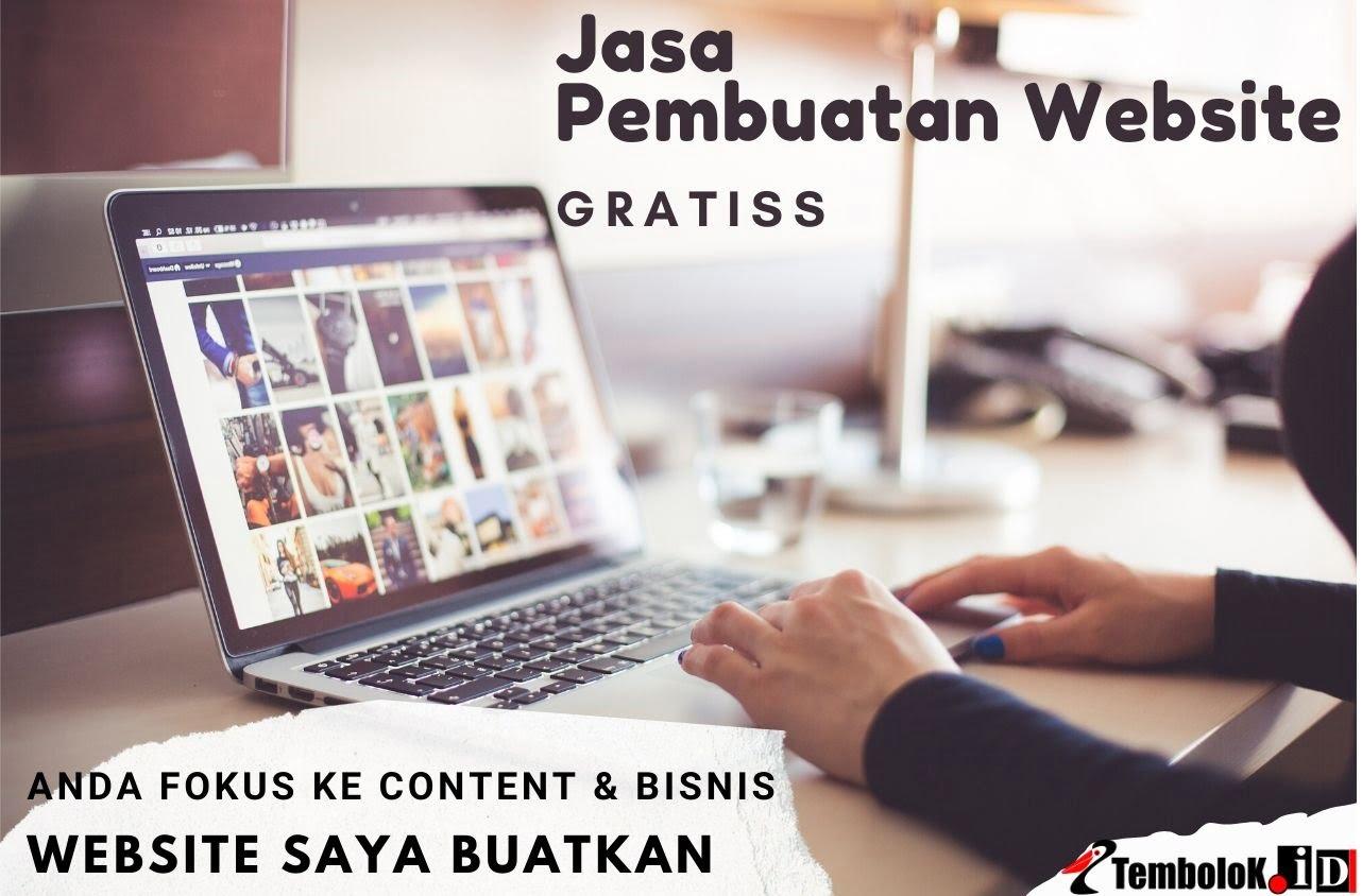 Jasa Pembuatan Website Custom Gratis