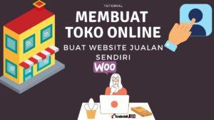 cara membuat website jualan atau toko online sendiri