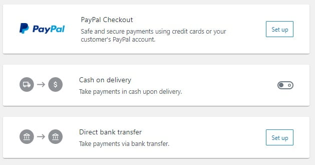 memilih metode pembayaran yang akan digunakan