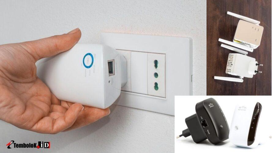 wifi extender untuk memperluas jangkauan wifi dirumah