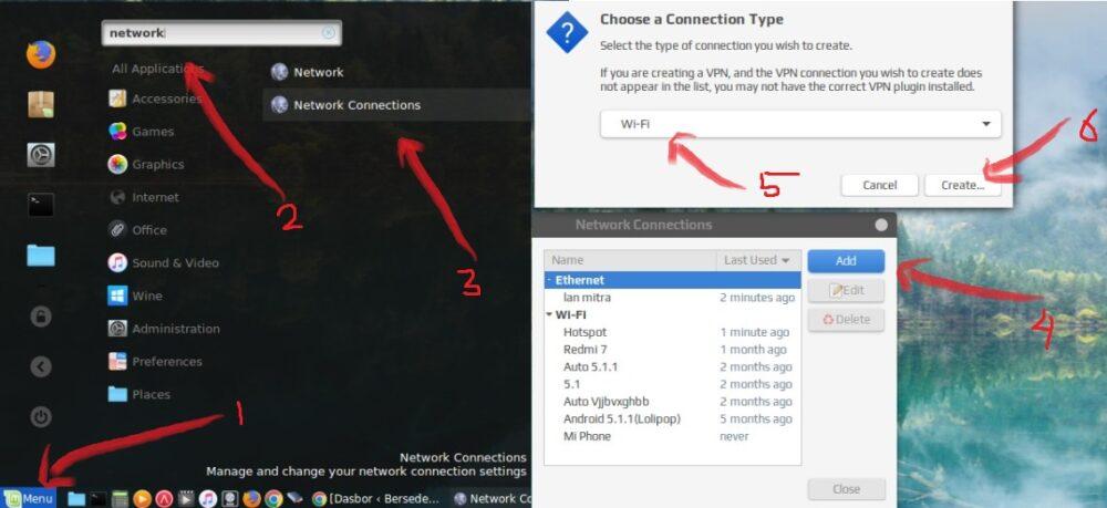 membua tprofile hotspot untuk WiFi